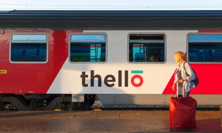 The Thello overnight train is currently suspended.