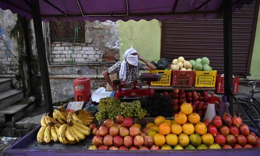 A fruit vendor's stall