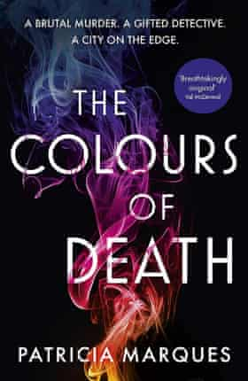 The Colours of Death by Patricia Marques book cover