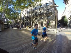 Go! Running Tours, Barcelona