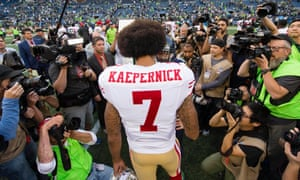 Colin Kaepernick's protest attracted huge attention last season