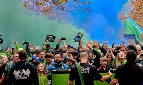 MLS Cup final: Seattle Sounders v Toronto FC – live!