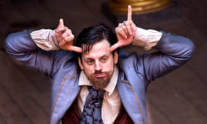 'It was about making the signing much bigger and more theatrical' … Deafinitely Theatre's production of Love's Labour's Lost at the Globe, 2012.
