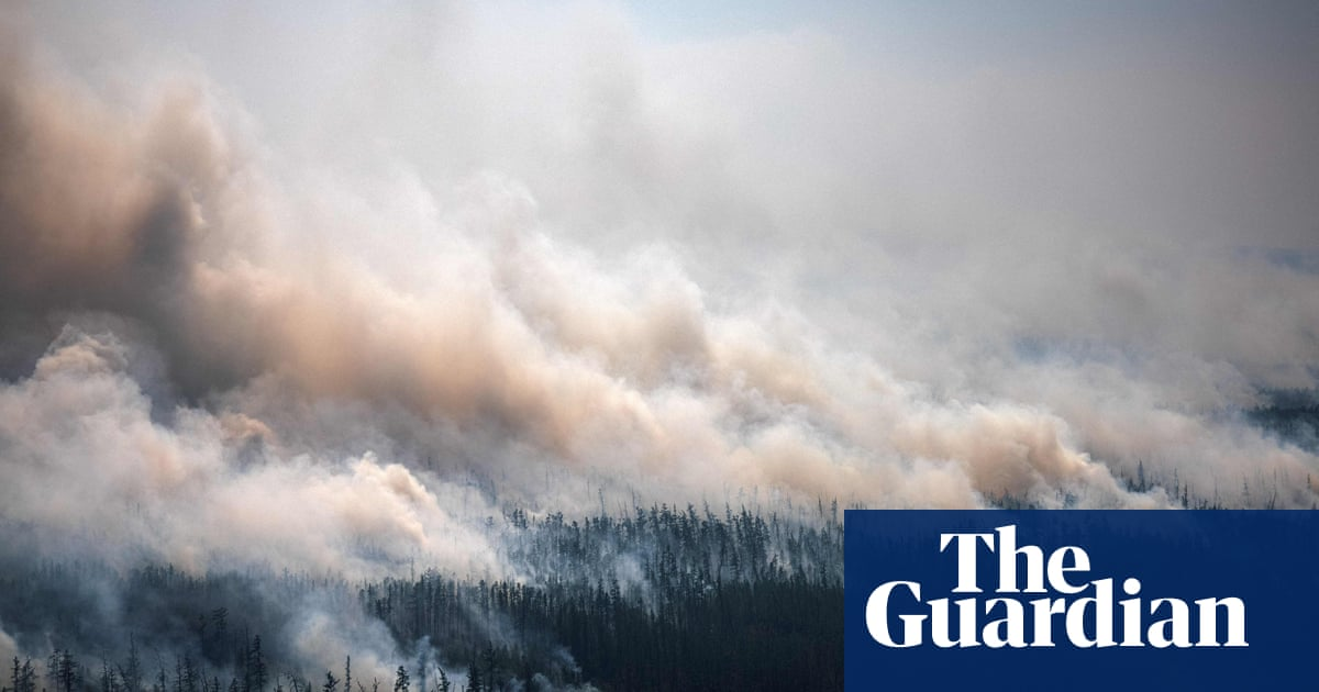 Smoke from Siberia wildfires reaches north pole in historic first