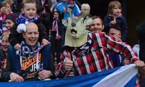 Ross County fans have little to sing about as they try to buy tickets for Sunday's game.