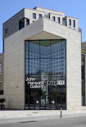 The controversial exterior of Studio 144.