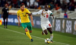 Liverpool forward Sadio Mané will be Senegal's main goal threat at their second World Cup.