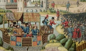 Richard II comes face to face with the rebels during the Peasants' Revolt of 1381