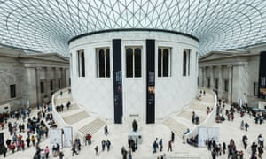 The British Museum, London. Its new director's background, like its predecessor's, is art history.