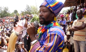 Kala Gezahegn, the traditional leader of Ethiopia's Konso people