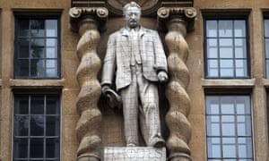 There have been increasing calls for the removal of the statue of Cecil Rhodes from Oriel College, Oxford