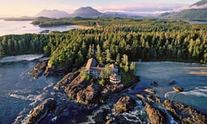 Wickaninnish Inn, Chesterman Beach, Vancouver Island