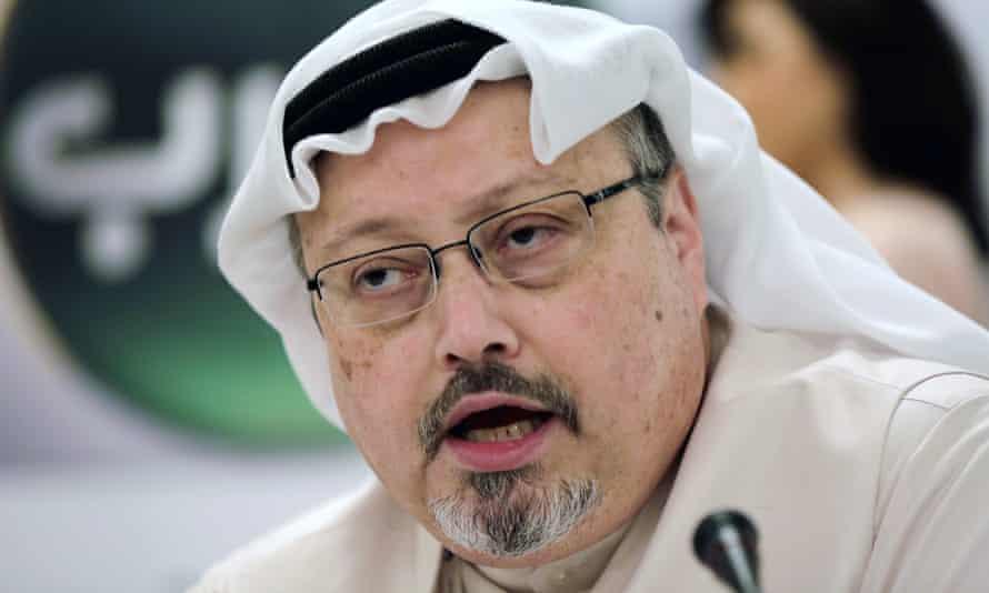 Jamal Khashoggi pictured in 2014