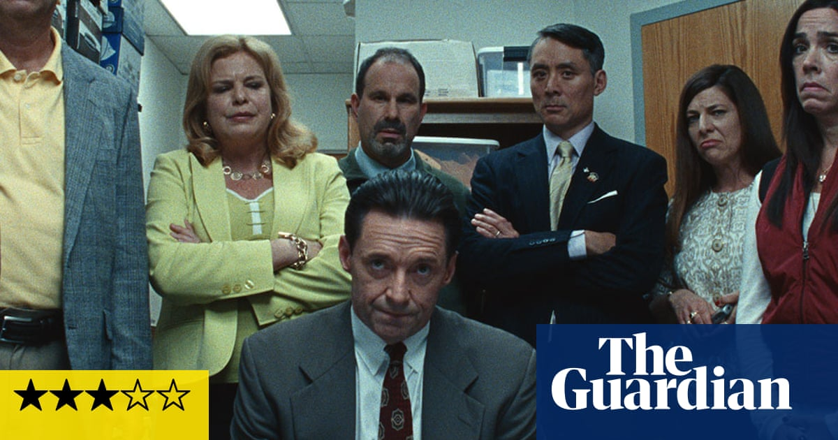 Bad Education review – Hugh Jackman steals embezzlement drama