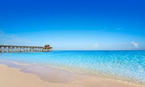 Cocoa Beach pier in Cape Canaveral.