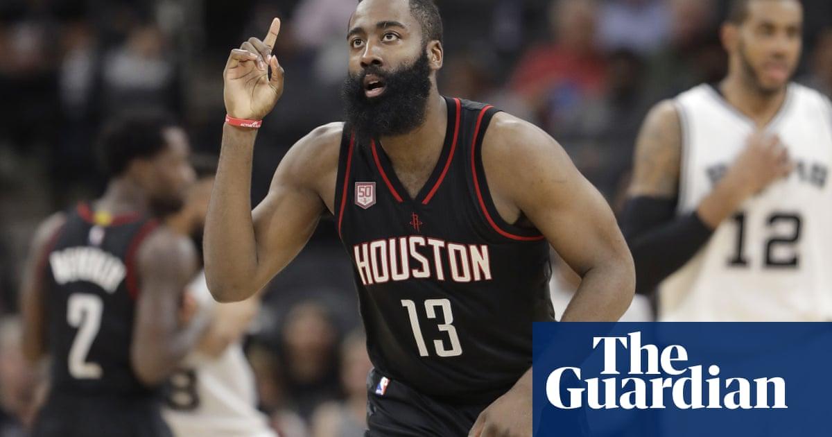 cbe96997e432 Houston Rockets sign James Harden to NBA-record  228m contract extension