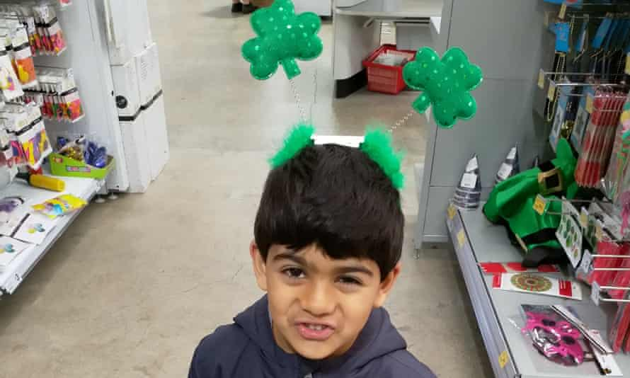 Dunedin boy Sameer Anwar, who stuck a piece of Lego up his nose two years ago