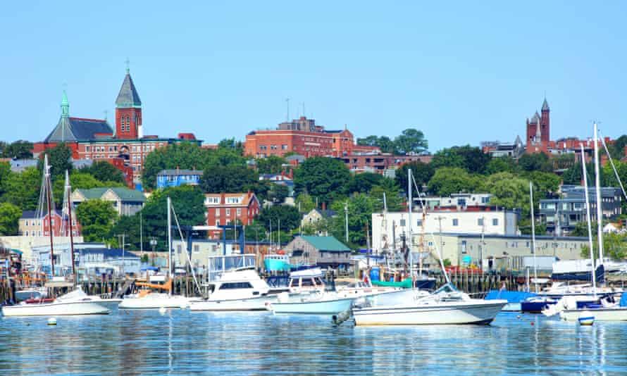 Portland Harbor and skyline