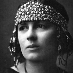 Rebecca West, photographed in the 1920s.