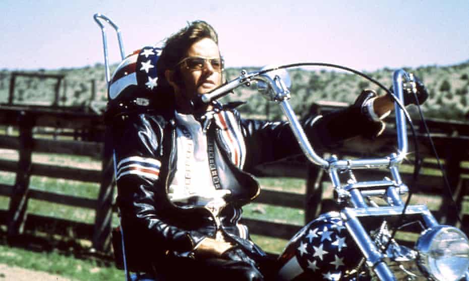 Peter Fonda as Wyatt in Easy Rider (1969).