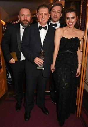 Brendan Cowell, David Lan, Simon Stone and Billie Piper