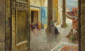 An exhibition of dreams... Carl Wuttke, The Great Umayyad Mosque, Damascus, 1913 (detail).