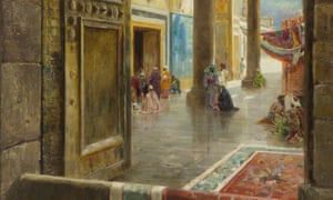 The Great Umayyad Mosque by Carl Wuttke at the British Museum's Inspired By the East exhibition.