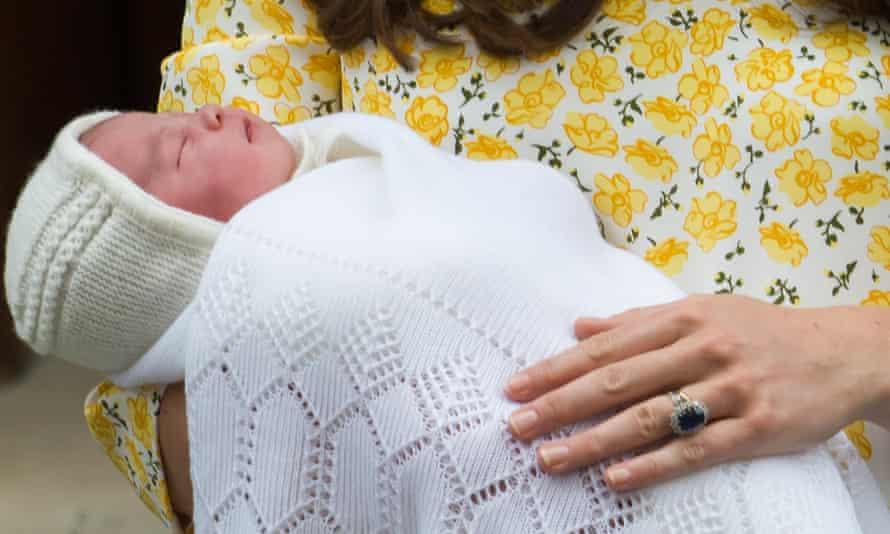 Royal baby Princess of Cambridge