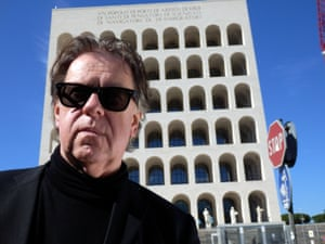 Film-maker Jonathan Meades in Ben Building: Mussolini, Monuments and Modernism.