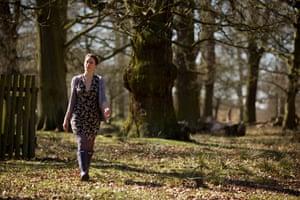 Northern soul … Laura Barton at Dunham Massey in Cheshire.