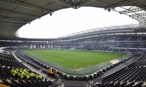 A general view of the Hull City KC Stadium.