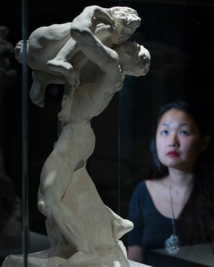 Intense embrace … Auguste Rodin's Je suis belle.