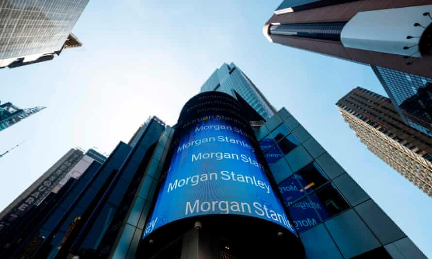Morgan Stanley's New York offices. The bank is not expected to ask staff and visitors to provide proof of their Covid vaccination status.