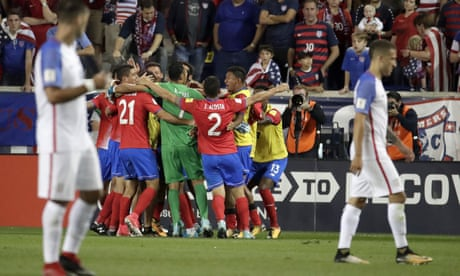 USA's World Cup hopes take hit in underwhelming 2-0 defeat to Costa Rica