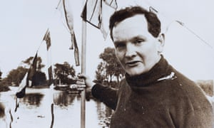 Donald Crowhurst on a boat