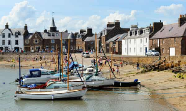 Stonehaven, Aberdeenshire, home to the Carron and the Bay fish bars.