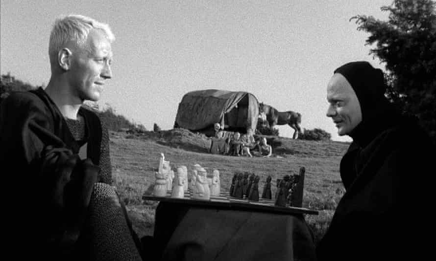 Max von Sydow in The Seventh Seal.