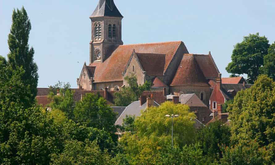 The village of Authon-du-Perche, France