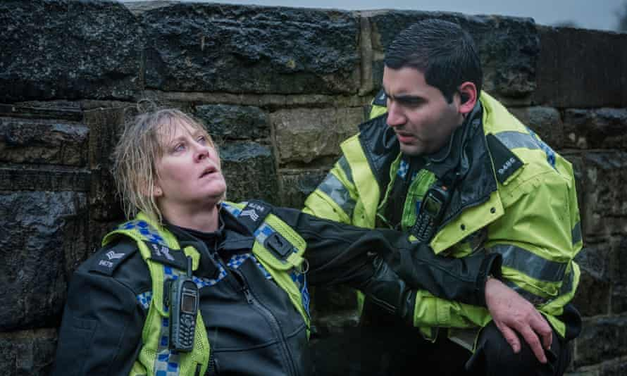 Viewers complained about mumbling in the BBC's Sarah Lancashire drama Happy Valley.