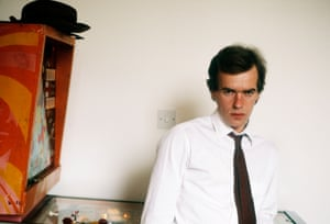 Martin Amis at home in London, September 1987.