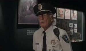 Stan Lee movie cameos - Captain America: Winter Soldier