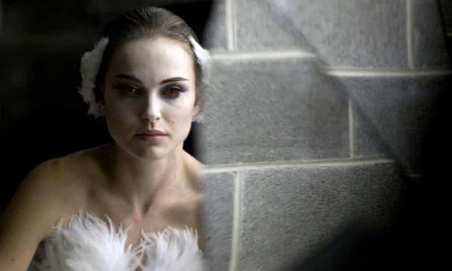 'A performance of painful intensity': Natalie Portman in Black Swan.