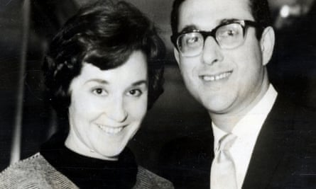 Pinter with his first wife Vivien Merchant, who died in 1982.