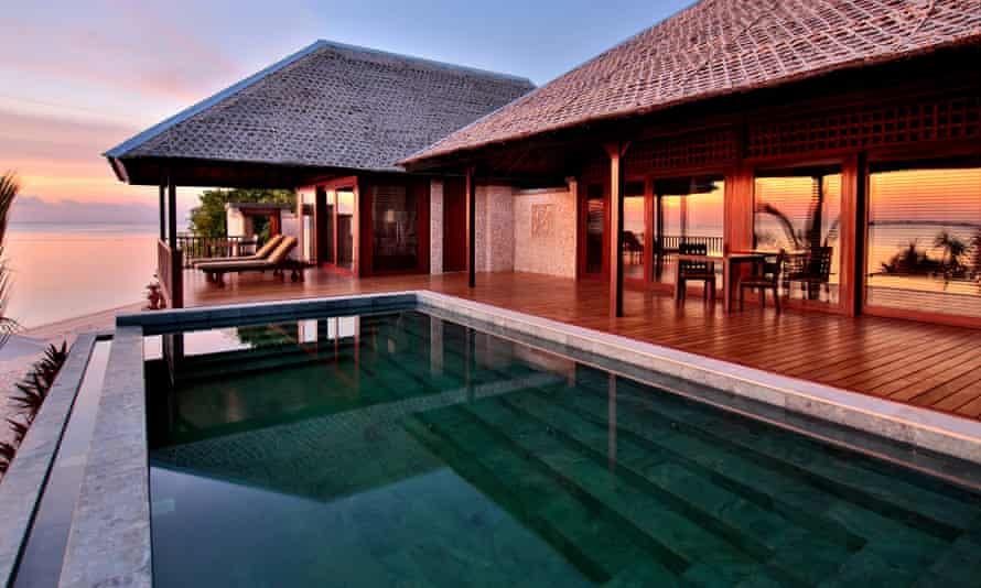 LoveHomeSwap lodge in the Wakatobi Marine Reserve, Indonesia