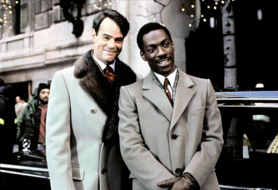 Dan Aykroyd and Eddie Murphy in Trading Places.
