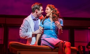 Katharine McPhee and David Hunter in Waitress at the Adelphi theatre, which hosts karaoke nights.