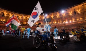 The closing ceremony of the Rio 2016 Paralympic Games