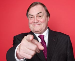 'When you get to 80, you're not scared of anything': John Prescott.