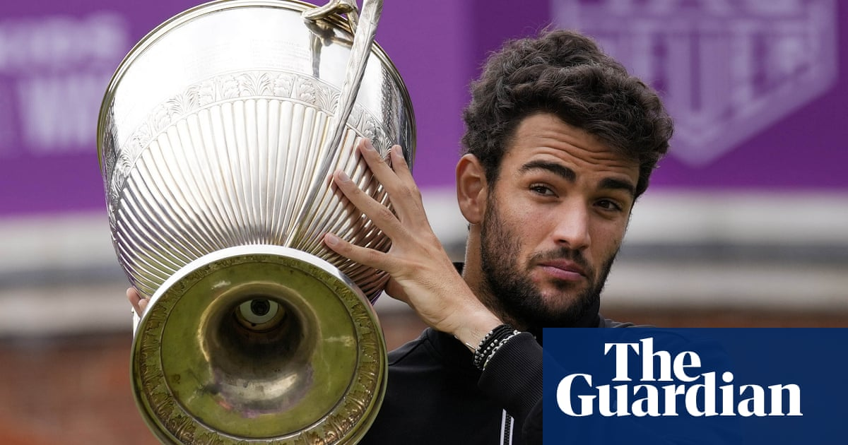 Matteo Berrettini serves up misery for Cameron Norrie in Queen's Club final
