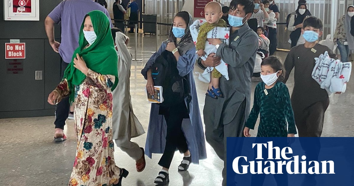 'We were very lucky': Afghan refugees arrive in US, exhausted but relieved